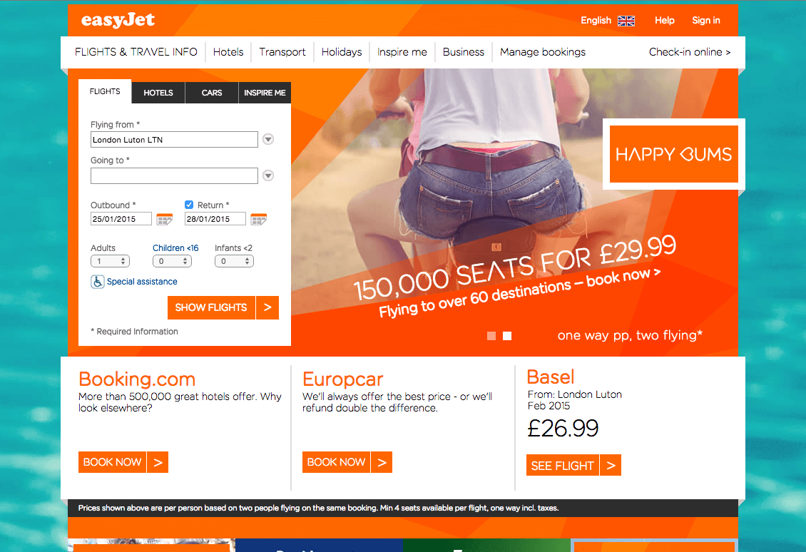 How Easyjet creates value