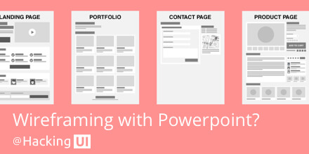 Free macro layouts powerpoint templates for wireframing for Powerpoint wireframe template for ui design