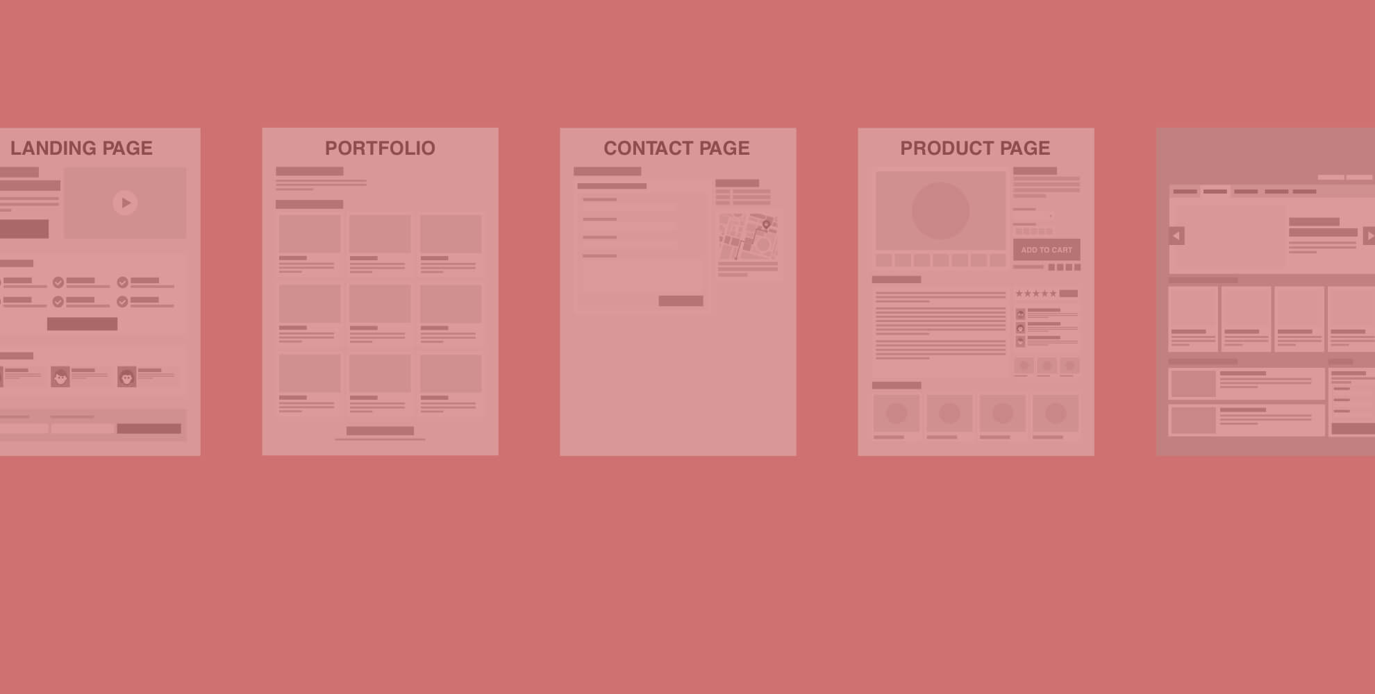 Free Macro Layouts Powerpoint templates for wireframing web pages