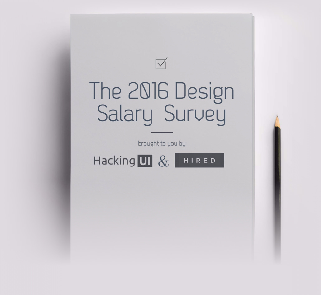 The 2016 Design Salary Survey | Hacking UI