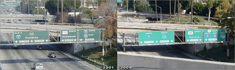 I-5 Freeway Sign