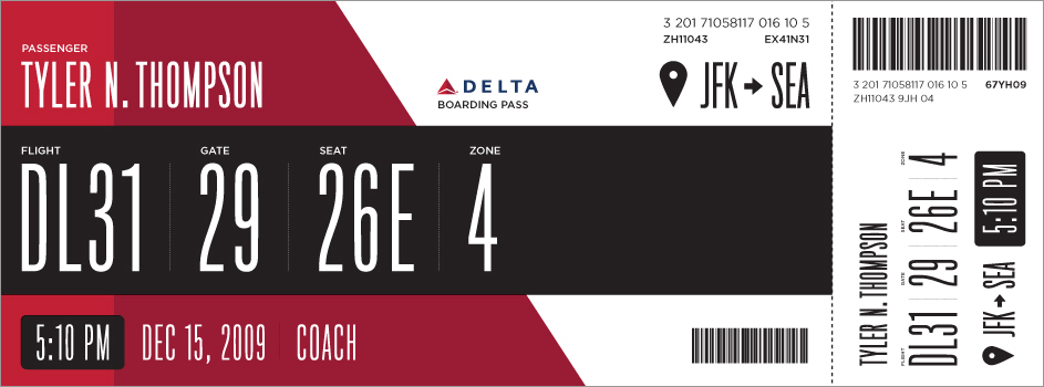 Boarding Pass: After