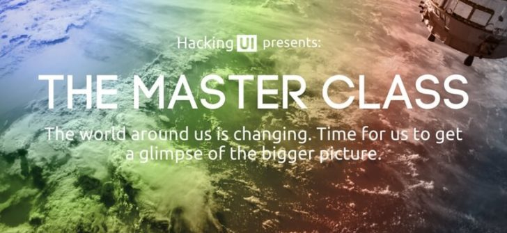 The Hacking UI Master Class Series